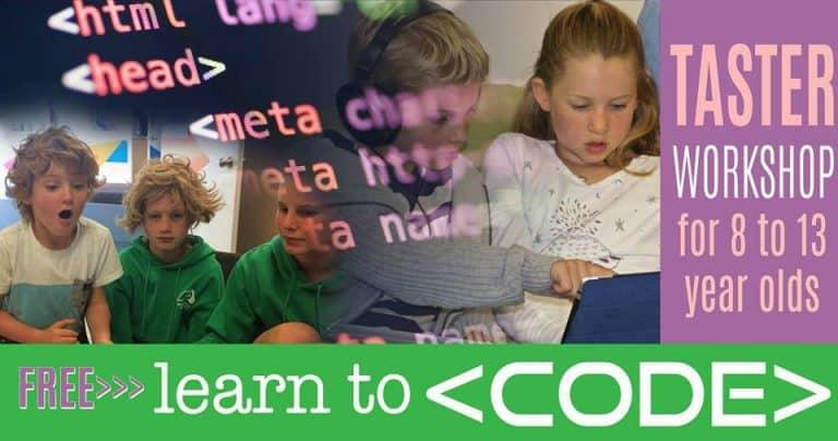 Learn to Code Taster Workshop in Te Puke