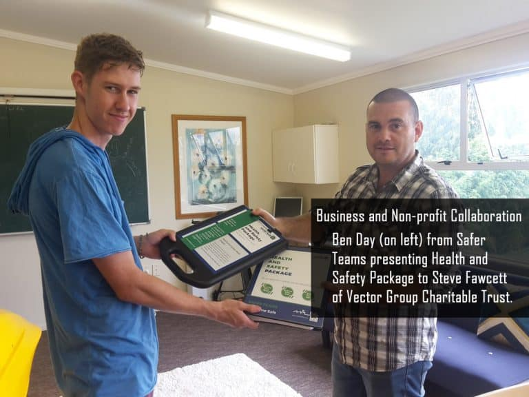 Business and Non-Profit Collaboration in Te Puke