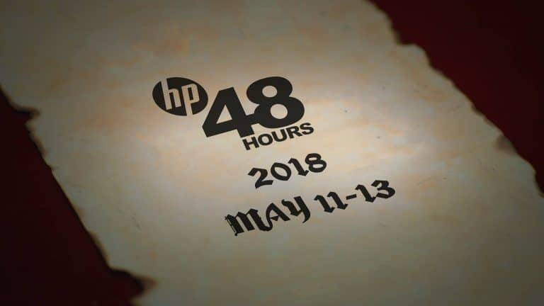 Lock it in!  HP48Hours 2018 Film Competition