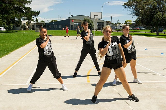 Urban Dance put on a dance demonstration at the Tauranga Youth Development Team's '100% Summer' programme at Arataki Park recently