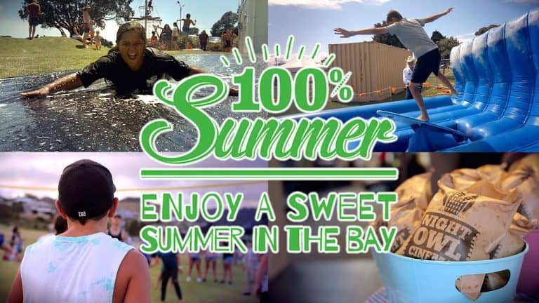 Tauranga Youth Development's 100% Summer 2018 highlights video